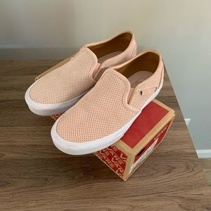 Vans Asher Perforated Slip Ons